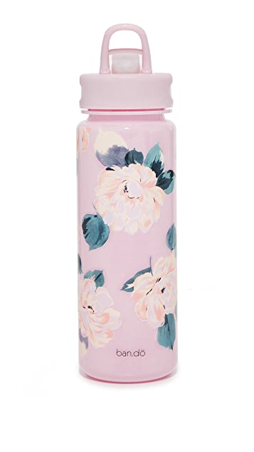 ban.do Lady of Leisure Water Bottle - Pink Floral
