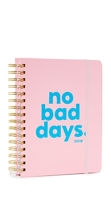 ban.do No Bad Days 17 Month 2018 Medium Agenda