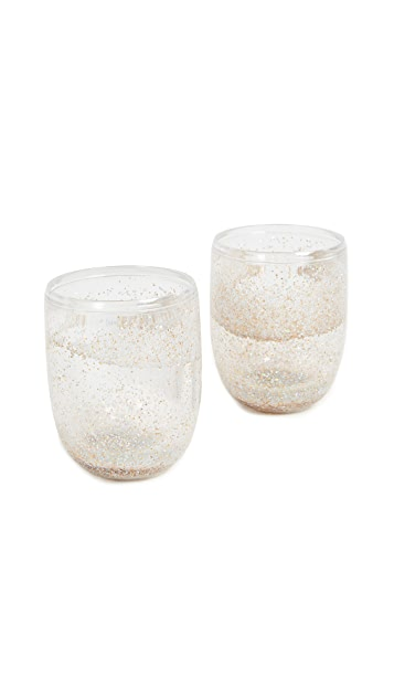 ban.do Glitter Bomb Tumbler Set of 2