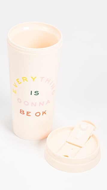 ban.do Everything Is Gonna Be Ok Thermal Mug