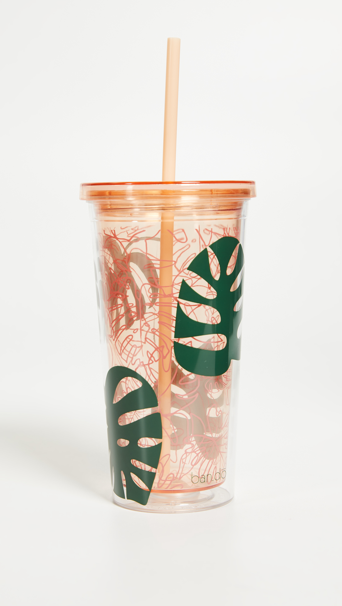 #Monstera Leaf Tumbler
