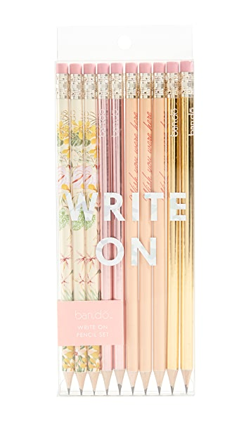 ban.do Paradise Greetings Pencil Set