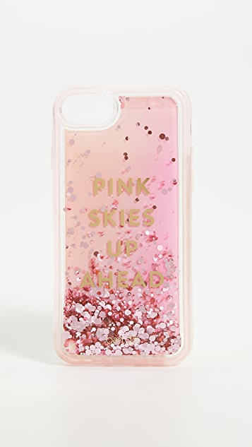 ban.do Pink Skies Up Ahead iPhone 8 Case