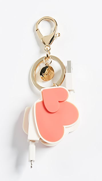 ban.do Heart to Heart Retractable Charging Cord