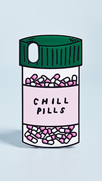 ban.do Chill Pills iPhone X Case