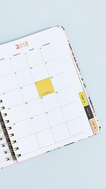 ban.do Garden Party Aug to Aug Medium Planner