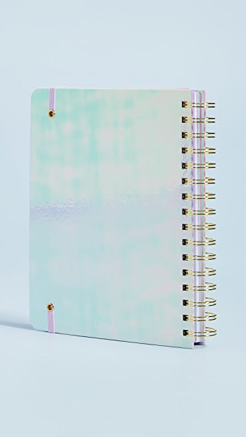 ban.do Pearlescent Aug to Aug Medium Planner