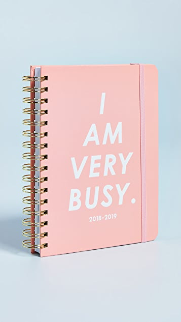 ban.do I Am Very Busy Aug to Aug Medium Planner