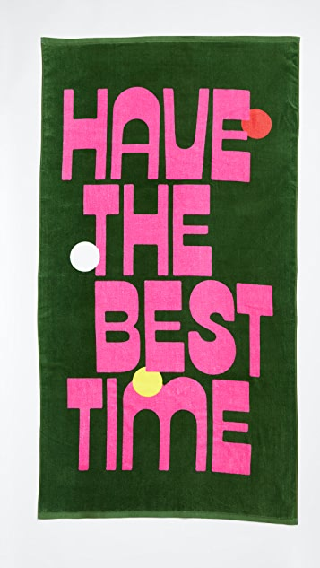 ban.do Best Time Giant Beach Towel