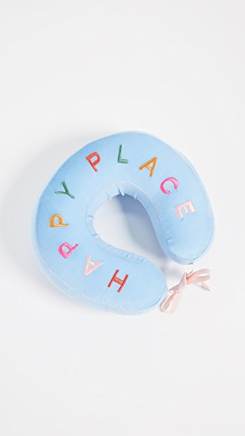 ban.do Happy Place Neck Pillow