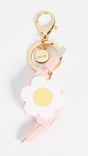 ban.do Daisy Charging Keychain