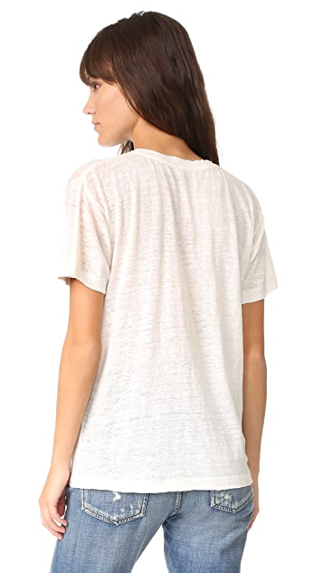 Banner Day Early Evening Pocket Tee