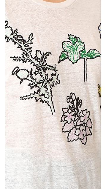 Banner Day Flowers of the Great Lakes Tee