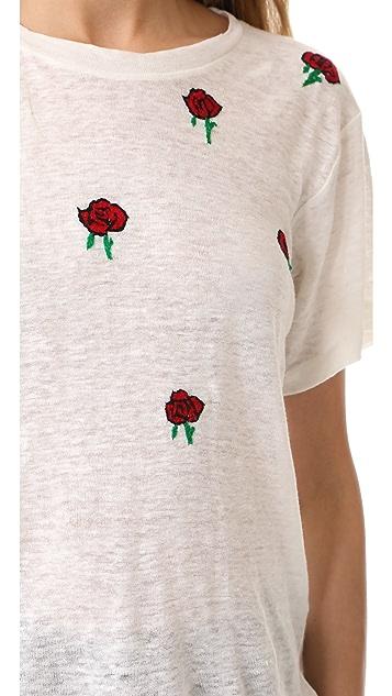 Banner Day Rose Garden Tee