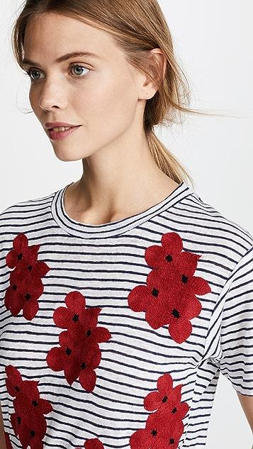 Banner Day Lavender Flower Field T-Shirt