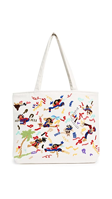 Banner Day Band Scene Tote