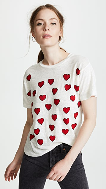 Banner Day Hearts Tee