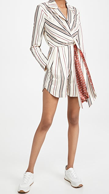 By any Other Name Gathered Wrap Romper