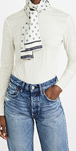 By any Other Name - Turtleneck Scarf Tie Top