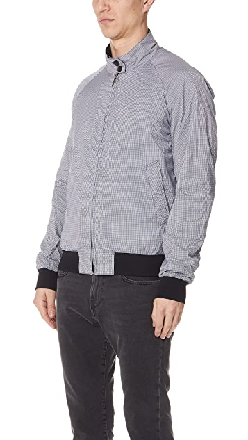Baracuta G9 Reversible Check Jacket