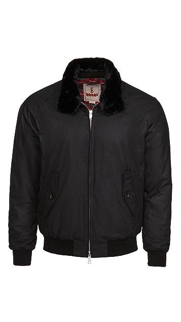 Baracuta Waxed G9 Collar Jacket