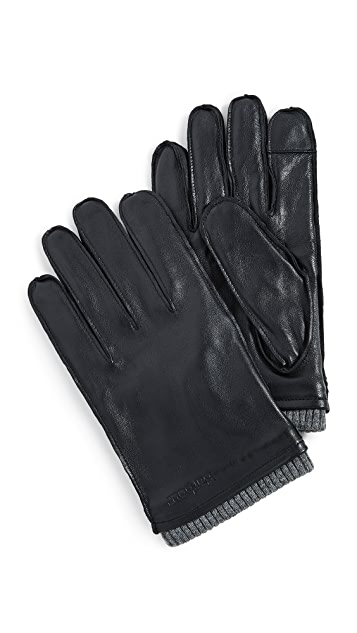Barbour Bampton Leather Gloves