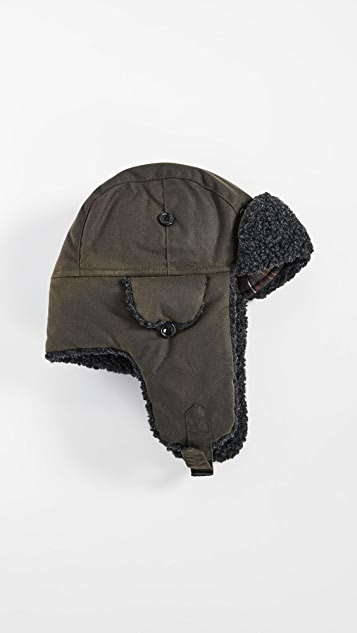 Barbour Lined Trapper Hat