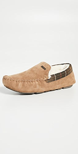 Barbour - Monty Suede Slippers
