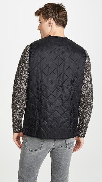 Barbour Polarquilt Waistcoat Full Zip Vest