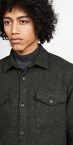 Barbour - Long Sleeve Brushed Twill Overshirt