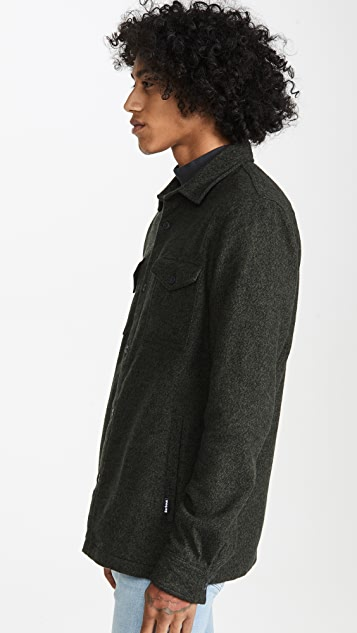 Barbour Long Sleeve Brushed Twill Overshirt