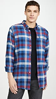 Barbour Long Sleeve Plaid Country Check Tailored Shirt