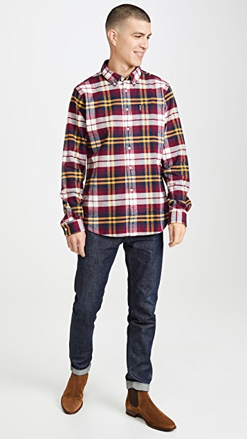 Barbour Long Sleeve Highland Check Tailored Shirt