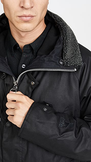Barbour Fenton Wax Parka