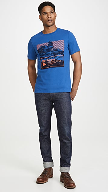 Barbour Break Graphic T-Shirt