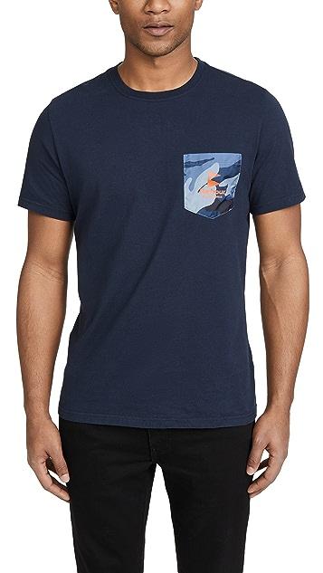 Barbour Barbour Ocean Camo Pocket T-Shirt