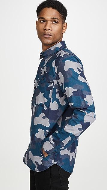 Barbour Barbour Ocean Camo Overshirt