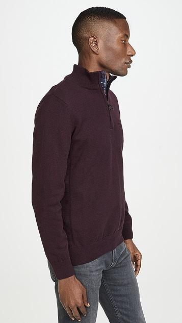 Barbour Barbour Cotton Half Zip Hoodie