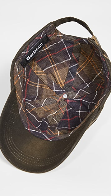 Barbour Wax Sports Cap