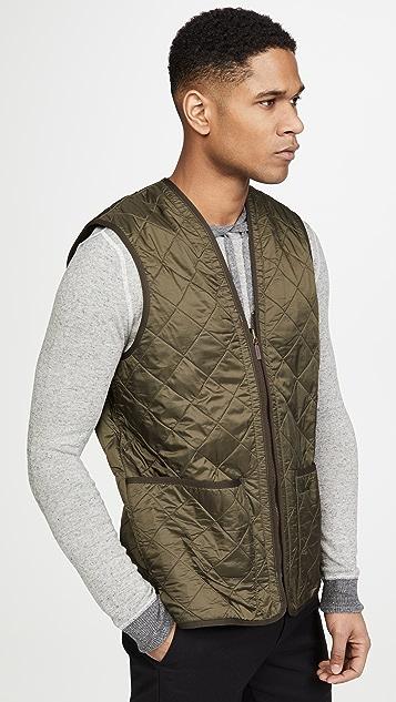 Barbour Polarquilt Waistcoat Zip-In Liner
