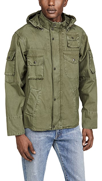 Barbour x Engineered Garments Washed Cowen Casual Jacket