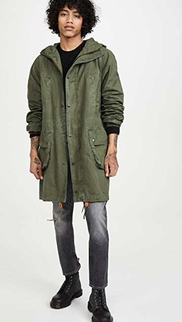 Barbour x Engineered Garments Washed Highland Parka