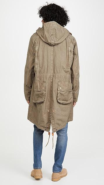 Barbour x Engineered Garments Washed Highland Parka