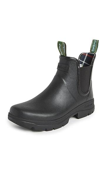 Barbour Fury Chelsea Wellington Boots