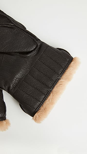 Barbour Leather Utility Gloves
