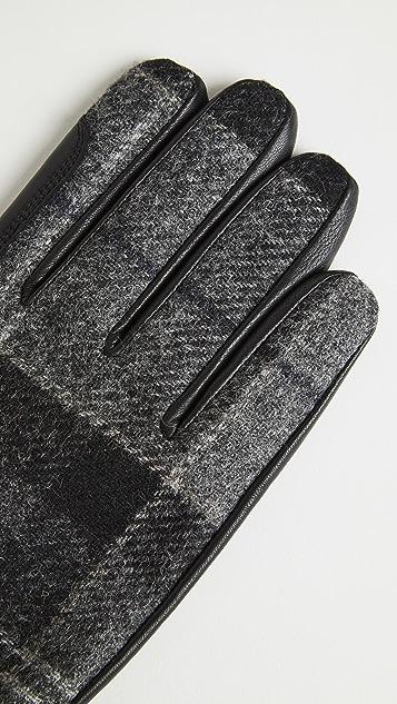 Barbour Newbrough Tartan Gloves