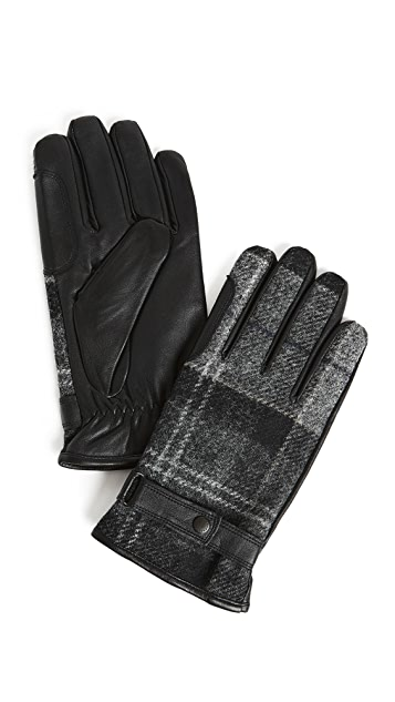 Barbour Newbrough Tartan Gloves