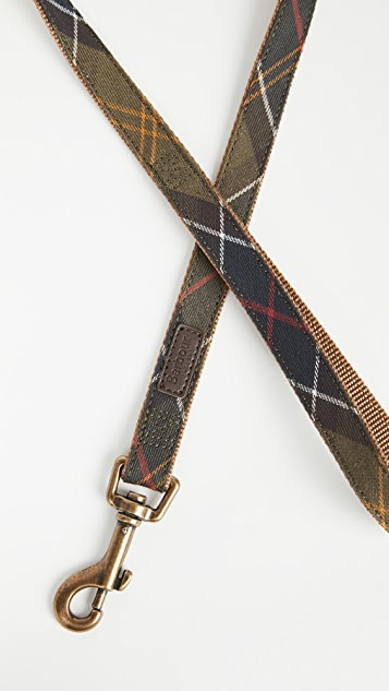 Barbour Tartan Webbing Pet Leash