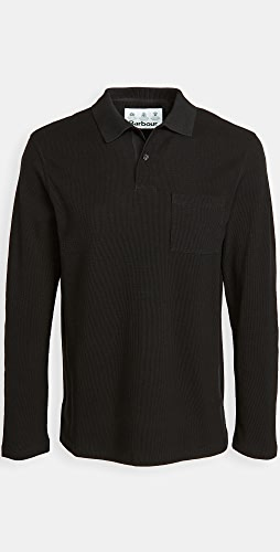 Barbour - Barbour Waffle Rugby Shirt