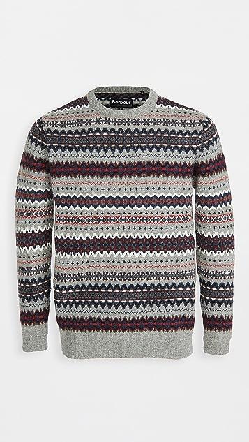 Barbour Barbour Case Fair Isle Crew Sweater
